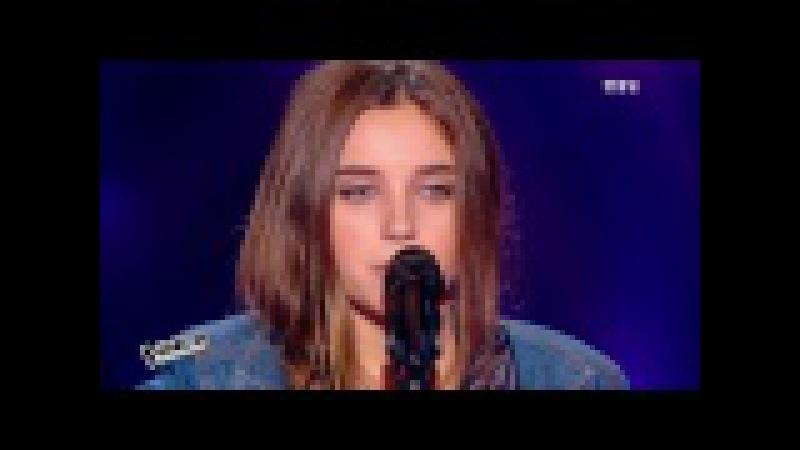 The Voice 2015│Valentine - Infirmière et Nuits Fauves (Fauve)│Blind Audition