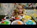 Учим цвета на русском и английском на Ютуб - большой сборник обучения цветам, наз...