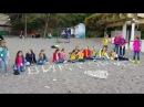 Мы на Сочи пляже Народный художественный коллектив ансамбль танца Виктория г Феодосия