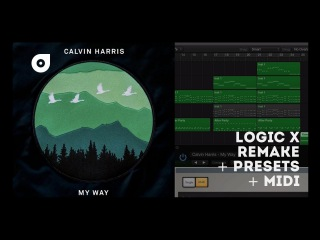 Calvin Harris - My Way (Logic X Remake) - YouTube