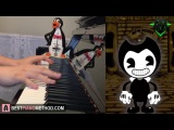BENDY AND THE INK MACHINE SONG - Build Our Machine - DAGames (Piano Cover by Amosdoll)