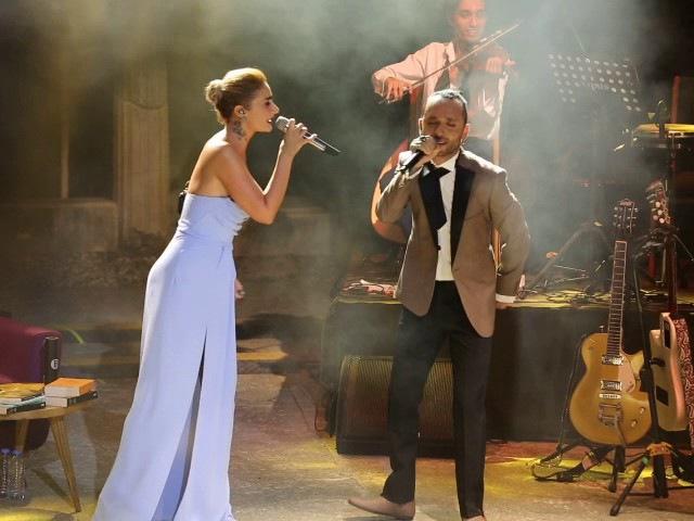 Sıla - Mabel Matiz Yan Benimle düet Bodrum konseri 2017