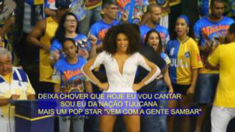 Samba Unidos da Tijuca Carnaval 2017 - versão oficial na voz de Tinga