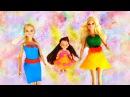 Мастер-класс Платья для кукол Барби из пластилина Плей ДО своими руками! Видео ...