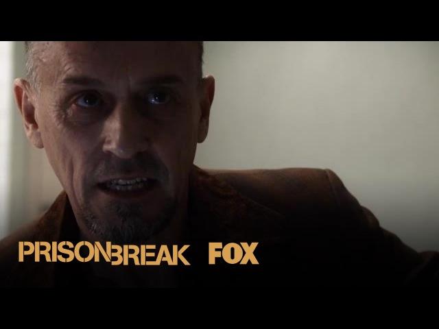 T-Bag Tells Sara He Knows About Kaniel Outis   Season 5 Ep. 3   PRISON BREAK