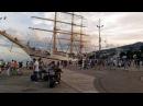 Ялта море / Корабль Херсонес в Ялте 17.06 2017 года / Ялта набережная / Море солнце пляж