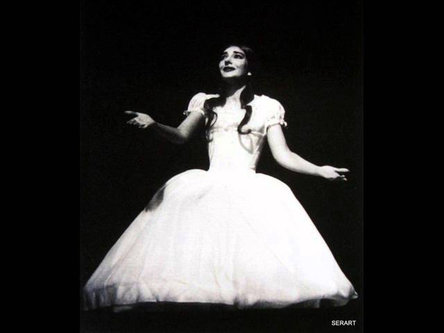 Maria Callas' Gloomiest and Catatonic Ah non credea mirarti