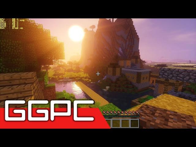 4K Minecraft Shaders GTX 1080 Gameplay FPS Test