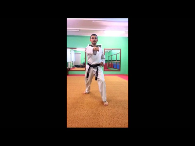 Taekwondo WTF. 1 Пхумсэ Тэгук Иль Джан.