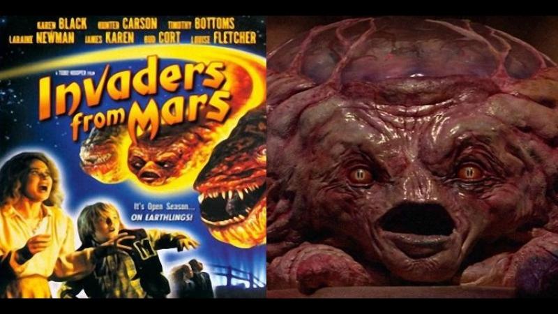 Пришельцы с Марса / Захватчики с Марса/ Invaders from Mars 1986.