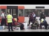 Barcelona train crash