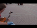 Арбат 2013 - River Flows In- You на гитаре -- MoscowGuitar ШколаГитары.РФ