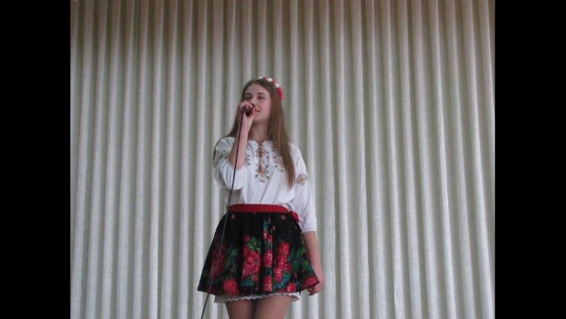 Довгань Наталя Тобі, країно, стелеться земля Конкурс солістів-вокалістів