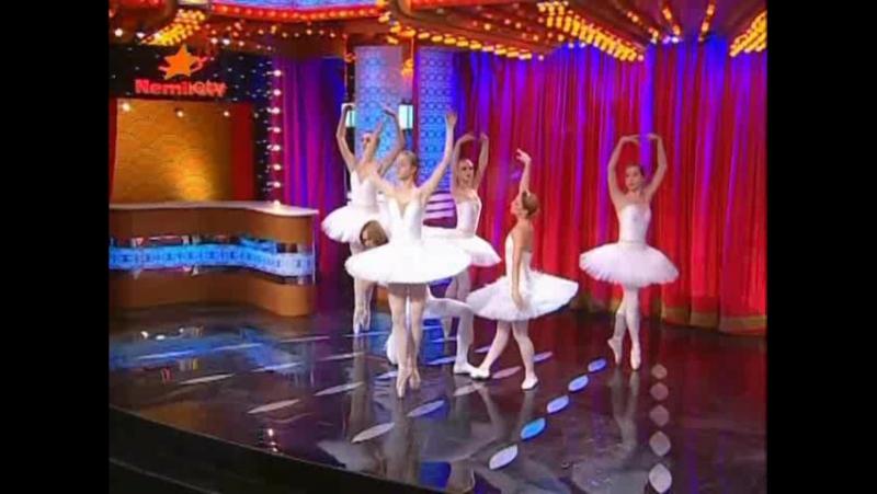 Большая разница по украински ICTV выпуск от 31 12 09 пародия на шоу Танцуют все