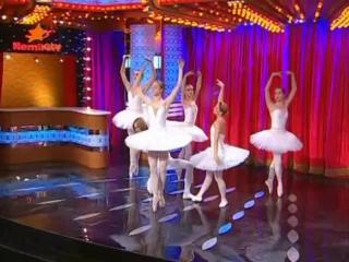 Большая разница по-украински(ICTV), выпуск от 31.12.09 - пародия на шоу Танцуют все