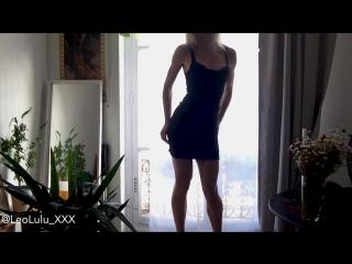 #pron leolulu fit girl masturbating by the window - leolulu