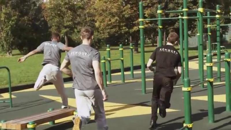 Kenguru Workout Parks - New Generation _ Воркаут площадки Kenguru.Pro