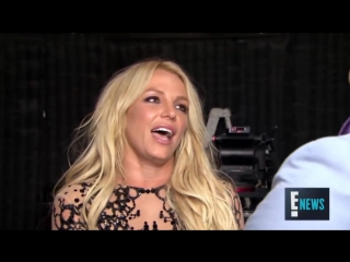 Интервью с Бритни Спирс во время съёмок клипа Make me