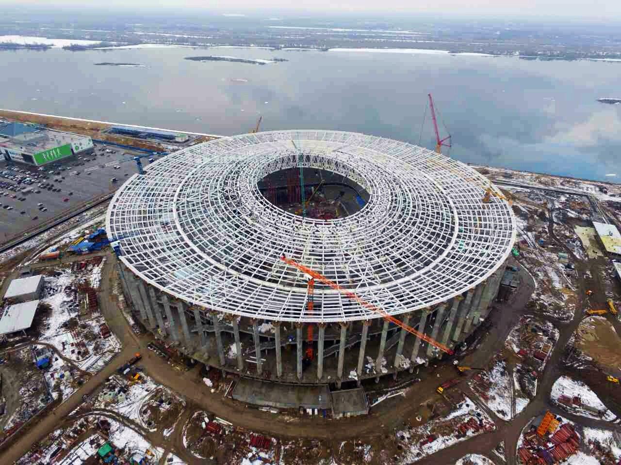 быстрого строящиеся стадионы россии фото мастиф скорее будет