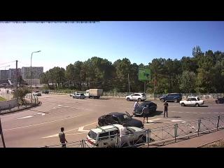 ДТП Сочи: Перекресток улиц Пластунских - 29 сентября