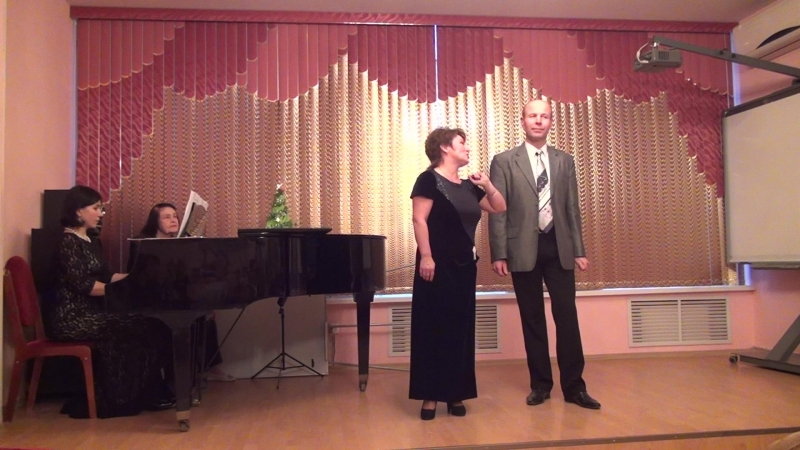 Дуэт Ферро и Розмари из оперетты - Подвязка Борджиа . Музыка Крауза -25122016