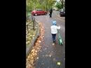 прогулка на самокате