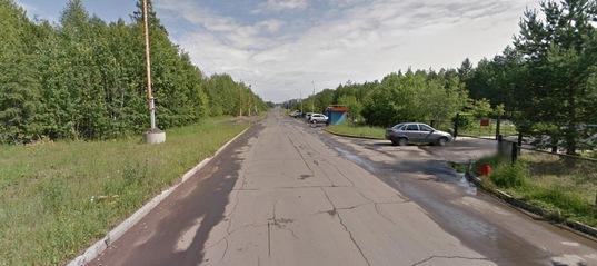 Дорога в районе курорта «Русь»