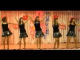 Девочки на сцене с танцем Allj(Элджей)  Hello Kitty