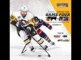 NHL 17 PS4. 2017 STANLEY CUP PLAYOFFS 100th FIRST ROUND GAME 4 EAST PIT VS CBJ. 04.18.2017. (NBCSN) !