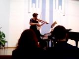 Шуберт, соната для ф-но и скрипки