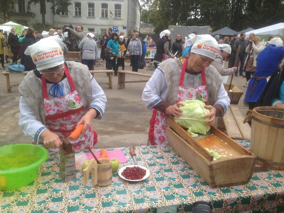 """В Зубцове прошел фестиваль """"Барыня капуста"""""""