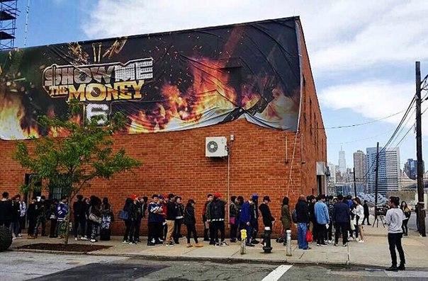 #SMTM6Прослушивание в NY. 😎