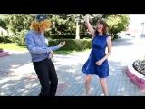 Свадебный флешмоб или Подберезь отжигает в самом центре Воложина
