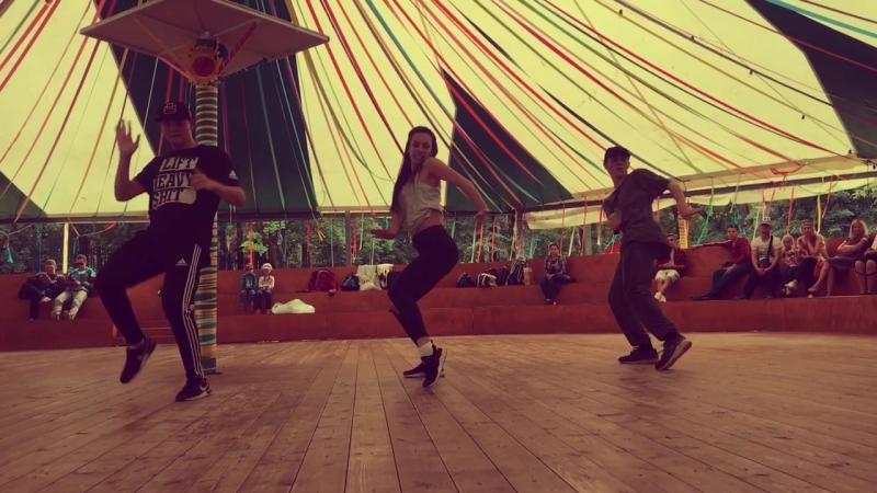Алина Барилова и FREAK DANCE STUDIO Мастеркласс в Перми