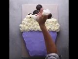 Торт из кексов