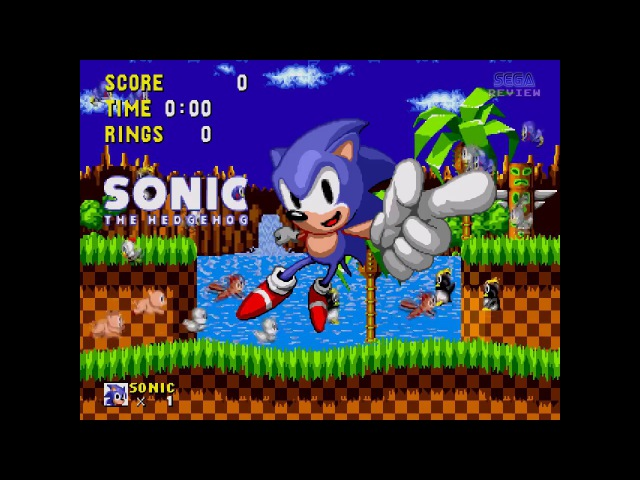 Sonic the Hedgehog (Mega Drive/ Genesis)/ longplay 3/ comments