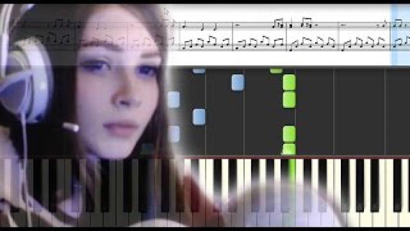 Enjoykin — Ламповая Няша на пианино (Кавер Обучение) Bad Musician