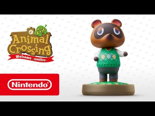 Animal Crossing: New Leaf - Welcome amiibo — Том Нук (Nintendo 3DS)