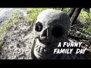 CHRIS SHARMA, JASON MOMOA & POL ROCA ON A FUN FAMILY DAY