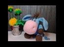 Очаровательный ослик, ч.2. Charming donkey, р.2. Amigurumi. Crochet.