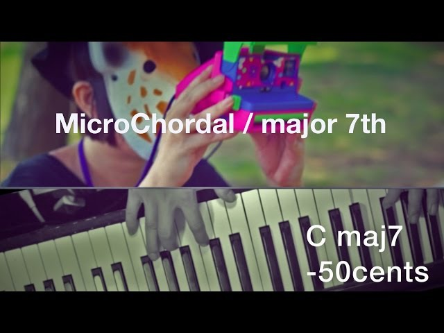 MicroChordal Progression / major 7th -H. Wakabayashi post microtonal 微分音進行