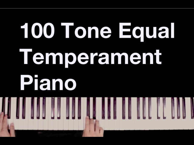 微分音ピアノ Sliced! 100 tone equal temperament piano (microtonal) 100平均律ピアノ -H. Wakabayashi