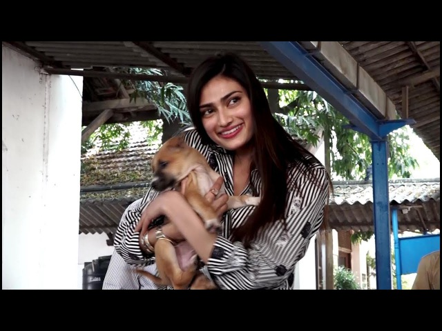 ATHIYA SHETTY VISIT THE BOMBAY SOCIETY FOR THE PREVENTION OF CRUELTY TO ANIMALS NGO