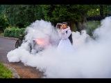 BMW M5 Wedding Burn Out