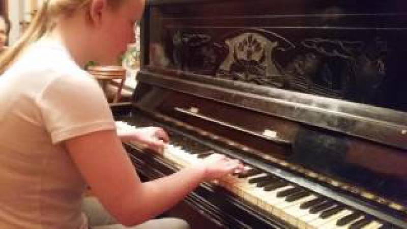 Звучание пианино