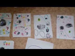 Синдром Аспергера. Дети рисуют одни и те же рисунки по миллион раз.