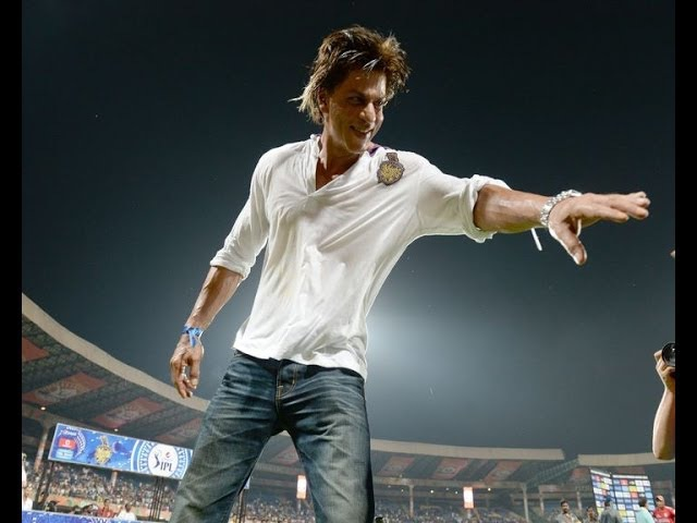 Shahrukh celebrates after KKR's IPL 7 win - IANS India Videos