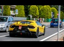 Lamborghini Huracan LP640-4 Performante and Aventador S being Tested on the Road !