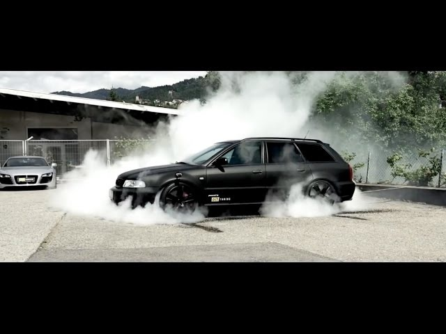 Audi Burnout, Launch Control Acceleration Compilation HD!