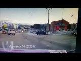Новая подборка ДТП и ЧП аварий 22.02.2017 февраль №4